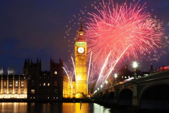 Crociera di Capodanno a Londra sul Tamigi