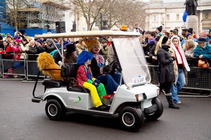 London Parade Capodanno