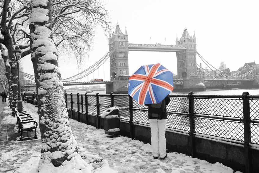 Febbraio a Londra