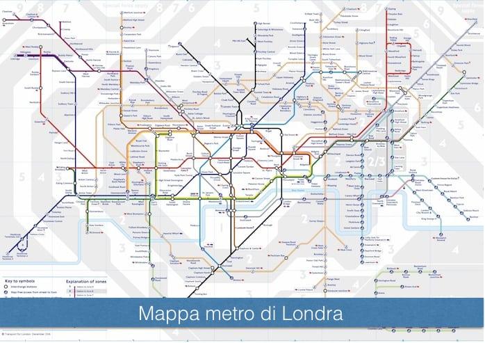 Cartina Autobus Londra.Metro Di Londra Mappa Orari E Info Utili