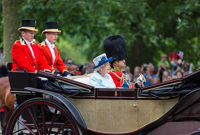 trooping the colour, Londra