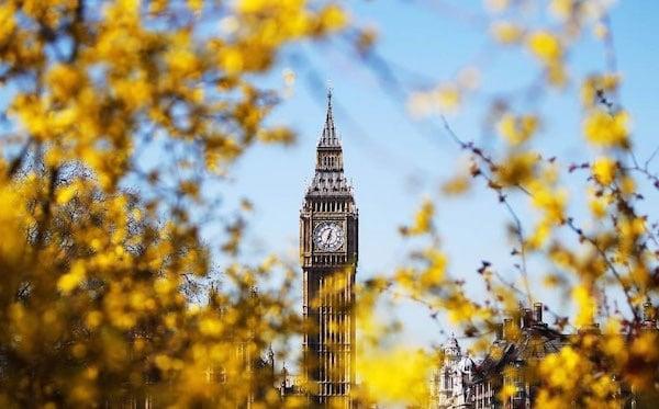 Marzo a Londra