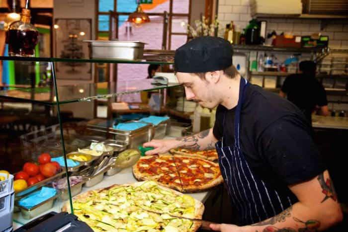 Pizzeria Homeslice, Londra