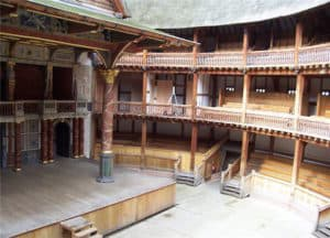 Shakespeare Globe Theatre Londra